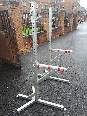 Squat stands commercial Heavy Duty, Strongman, Powerlifting, Bodybuilding