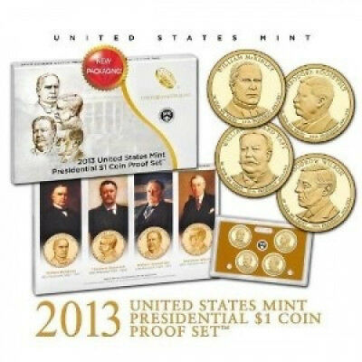2013 US Mint Presidential $1 Coin Proof Set. Delivery is Free