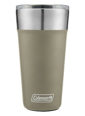 (20 Oz, Sandstone) - Coleman Brew Insulated Stainless Steel Tumbler, 890ml,