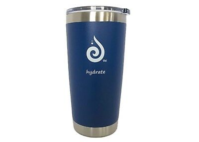 (Cobalt Blue) - Hydrate 590ml Stainless Steel Tumbler. Vacuum Insulated.