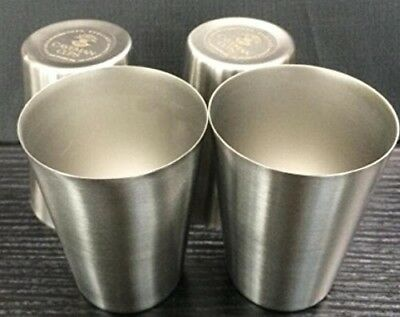 Kids Stainless Steel Cups - Non-toxic and BPA Free - 240ml - Set of 4. Avito