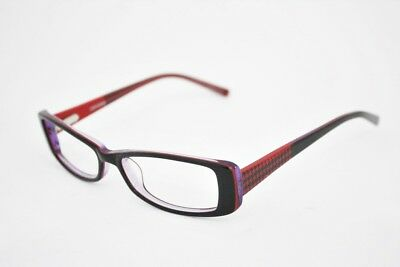 45ae180b38ba CONVERSE Let s go eyeglasses Frame Black Red Purple WOMEN 49mm