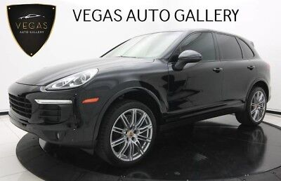 Porsche Cayenne  un Roof, 21-Inch Wheels, Platinum Edition, Leather & Alcantara