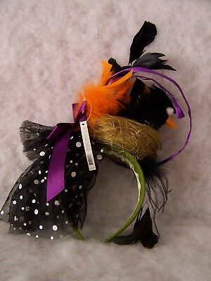 Patience Brewster Crow's Nest Halloween Head Band.