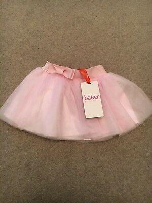 Ted baker Pink Tutu Skirt 3-6 Months Brand New With Tags