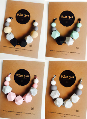 Silicone Baby teething necklace Teether Necklace / Teething jewellery