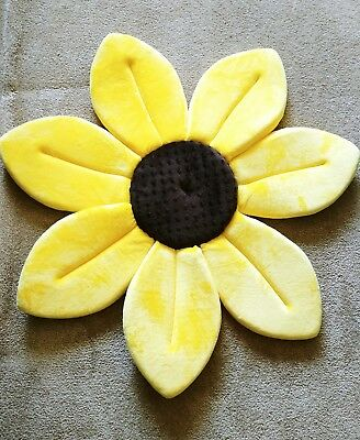 Blooming Bath Sunflower Baby Bath Mat for Sink # K