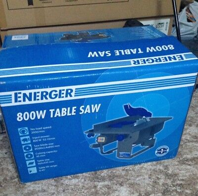 Energer 800w Table Saw DIY