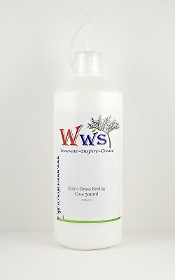 WWS STATIC GRASS BASING GLUE 500 BOTTLE. Brand New
