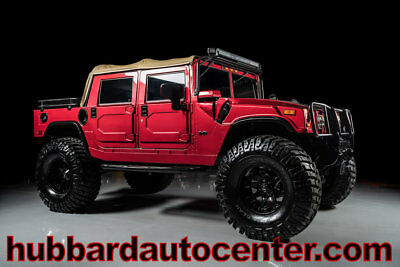 "HUMMER H1 4-Passenger Open Top Alpha Fully Custom 2006 Hummer H1 Alpha, Fully Custom, 46"" Tires, Fuel Wheels, HUGE Lift, WOW!"