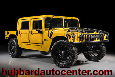 AM General Hummer 4-Passenger Hard Top 1999 Hummer H1 4 Man Hard Top, Rare Configuration, Fully Custome, New Engine!