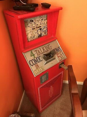 Original Talking Comics Mutoscope Super Rare