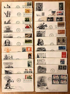 1960s FIRST DAY COVERS - U.S. FDCs LARGE COLLECTION // 1 COVER