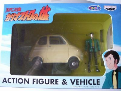 Lupin the third ACTION FIGURE&VEHICLE The Castle of Cagliostro anime JAPAN