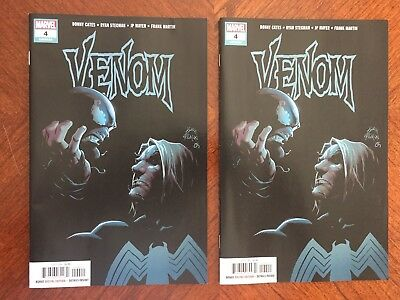 Venom #4 (2018) LOT 1st Print Cates Origin of the Symbiote God Knull Sold Out NM