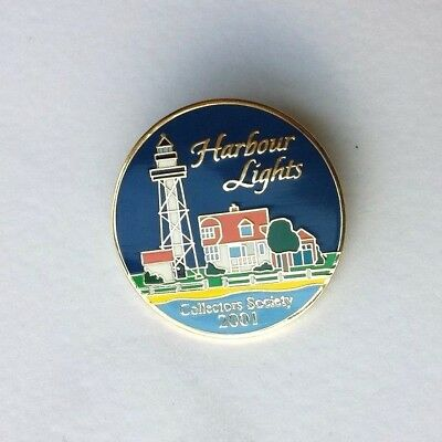 Harbour Lights Collectors Society 2001 Pin