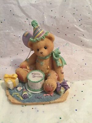 """1997 Cherished Teddies-""""You're The Frosting On The Birthday Cake"""""""