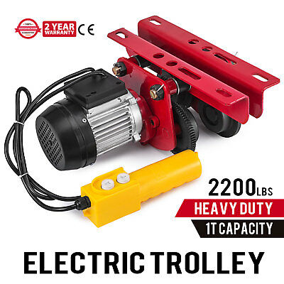 Electric Trolley - 2,200-Lb. Capacity