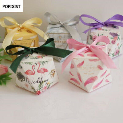 POPIGIST® 100pc/Lot Wedding Favor Box And Bag Sweet Gift Candy Boxes For Wedding