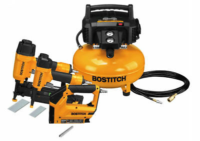 Bostitch BTFP3KIT Nailer and Compressor Combo Kit - 3 Pieces