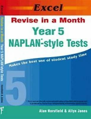 Excel Revise in a Month - Year 5 NAPLAN-style Tests