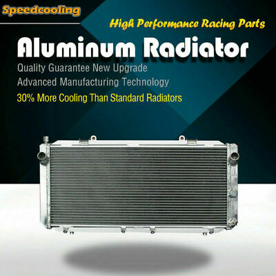 2093 2ROW Aluminum Radiator For Toyota MR2 L4 2.0L Turbocharged 91-95
