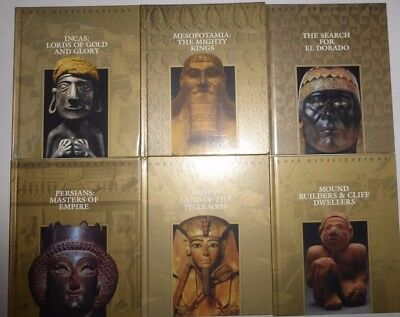 Lost Civilizations 10 Volumes Time-Life Books Hardcovers, World Anthropology  MS