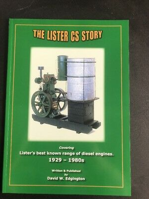 The Lister CS Story 1929-1980's Covers Best Known Range Of Diesel Engines