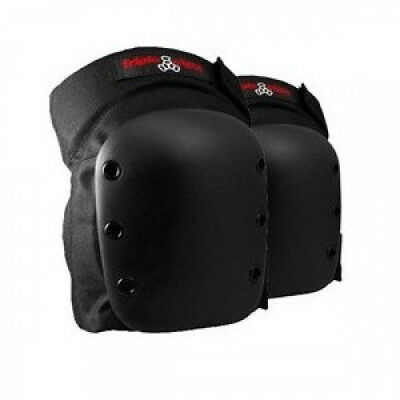 Triple 8 Street Black Large Knee Skateboard Pads. Delivery is Free