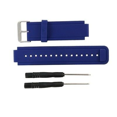 (blue) - Replacement band for Garmin Vivoactive, Silicone Replacement Fitness