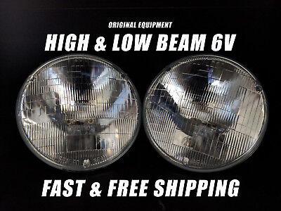 OE Front Halogen Headlight Bulb for Buick 1940-1953 High & Low Beam 6V