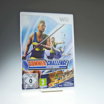 Wii   Summer Challenge Athletics Tournament   including box   very good