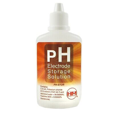 pH Electrode Storage Solution HM digital for pH Testers (60ml)