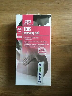 TENS Machine - Boots Maternity Unit - Natural Pain Relief Labour Childbirth