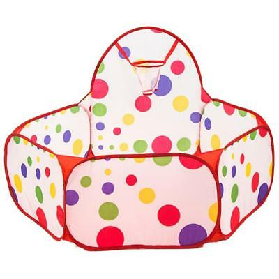 Portable Indoor Kids Baby Children Game Play Toy Tent Ocean Ball Pit Pool T