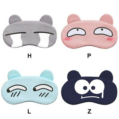 USA Cartoon Sleep Mask Eye Shade Cover For Girl Kid Teen Blindfold Travel Home
