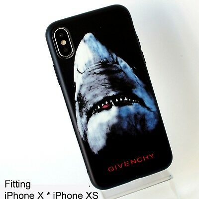 sale retailer 25924 5b0e7 GIVENCHY SHARK MATTE Black Hard Case Cover for iPhone 7, iPhone 8 ...