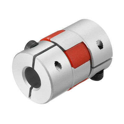 Shaft Coupling 8mm to 10mm Bore L30xD20 Flexible Coupler Joint for Servo Motor