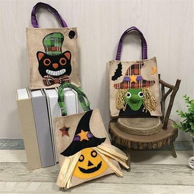 Newly Halloween Handbag Non-woven Bag Ghost Festival Child Gift Candy Sweets Bag