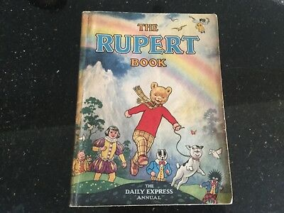 Rupert Bear Annual 1948 - original owner selling, price tag intact