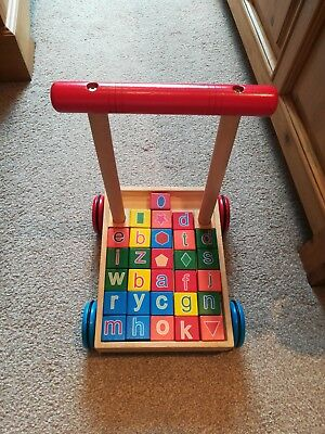 Wooden Baby walker used
