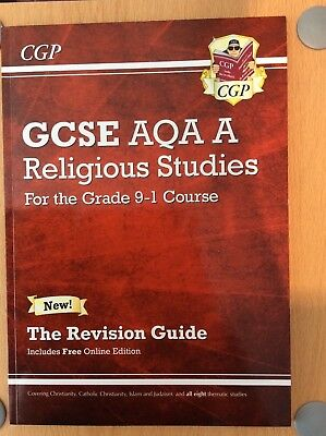 GCSE 9-1 AQA Religious Studies (RS) Revision Guide