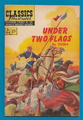 Classics Illustrated Comic Book 1951 Under Two Flags   #739