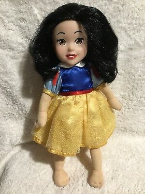 Disney Plush Snow White Doll 35m Tall VGC