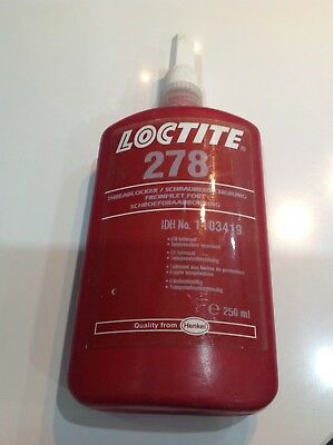 LOCTITE 278 Threadlocker, 250 ml, High strength, Henkel, Adhesive, Glue