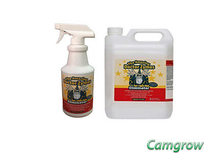 Dr Zymes - Spray Eliminator 1L & 5L Highly Effective Insecticide & fungicide