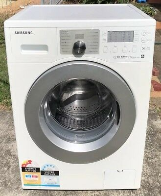 Samsung Direct drive ecobubble 7.5kg front loader as new 120d warranty