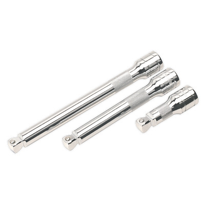 "Sealey S12E75 Extension Bar 75mm 1//2/""Sq Drive"