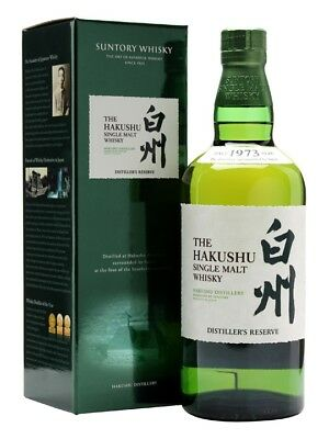 Suntory Hakushu Distiller's Reserve Single Malt Japanese Whisky (700ml)