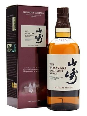 Suntory Yamazaki Distiller's Reserve Single Malt Japanese Whisky (700ml)
